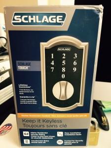 Mr. Locksmith Schlage Keyless Touchscreen Deadbolt Lock in Seconds