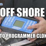 Off Shore Auto Key Programmer Clones | Mr. Locksmith Video