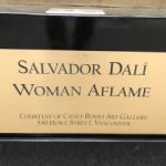 Salvador Dali's Woman Aflame Sculpture   Mr. Locksmith