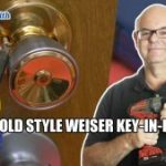 Rekey Old Style Weiser Locks