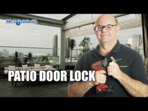 Patio Door Lock Victoria
